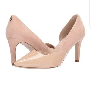 NEW Cole Haan Rendon II Patent/Suede Pump | Nude
